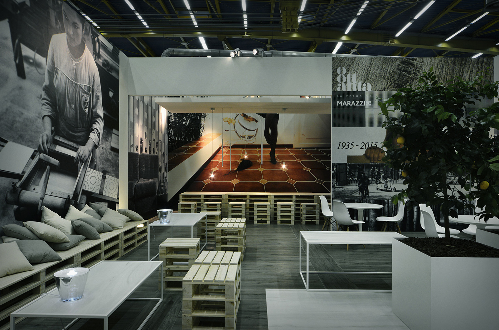 customer marazzi project cersaie sector trade show. Black Bedroom Furniture Sets. Home Design Ideas